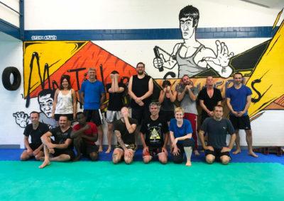 Gruppenbild Workshop Sparring für Anfänger im Martial Arts Concepts